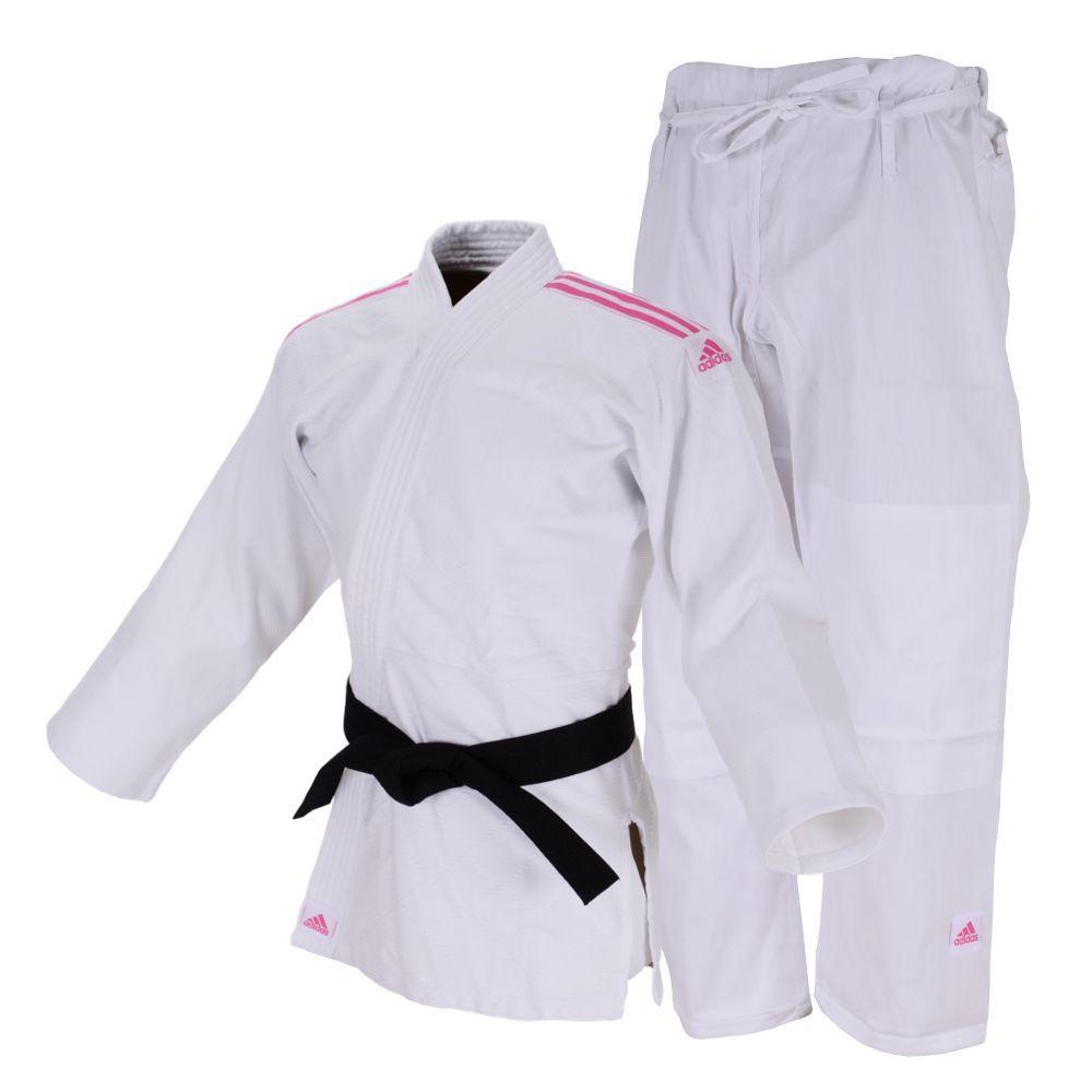 Kimono Judô Club Branco Adidas