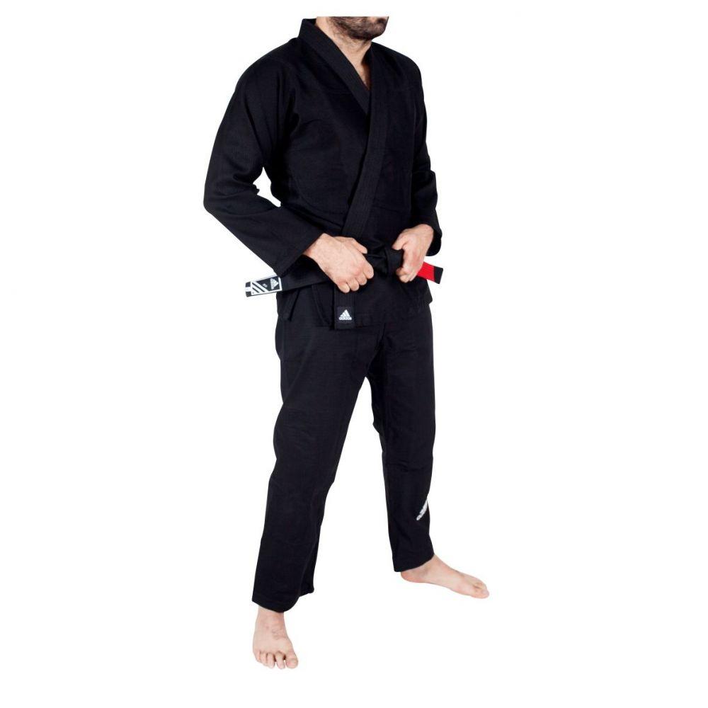 Kimono Jiu Jitsu Bjj Adidas Challenge Preto a4
