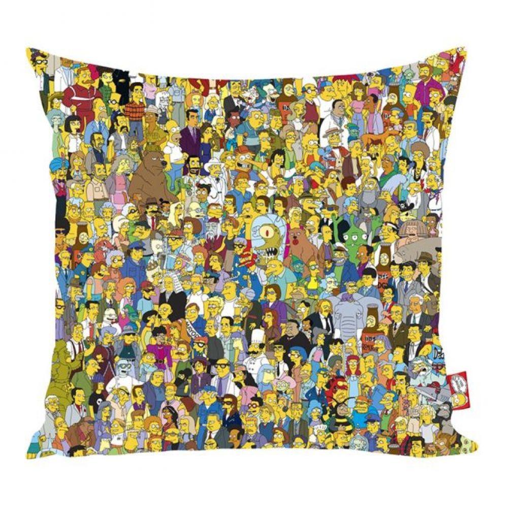 Almofada Simpsons Orig 40x40x20cm Colorida Trevisan Concept