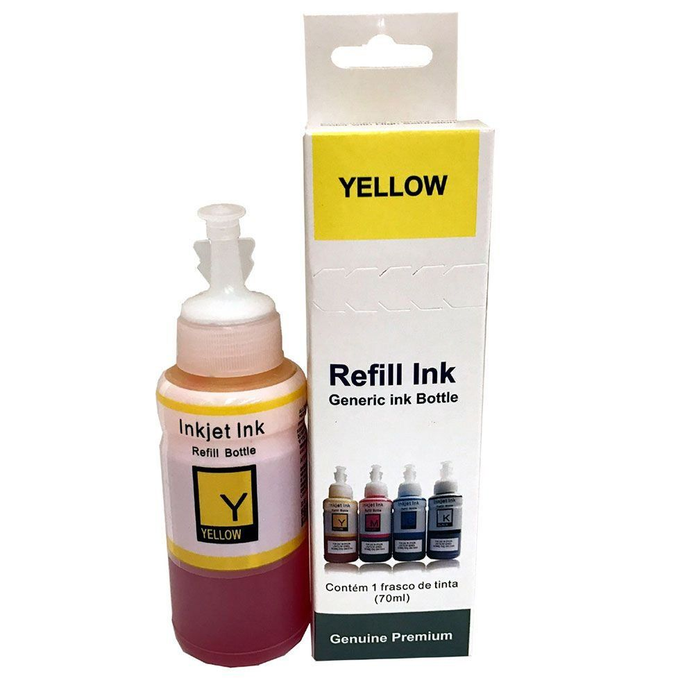 Tinta para Epson Bulk Ink L455 Yellow 70ml Premium