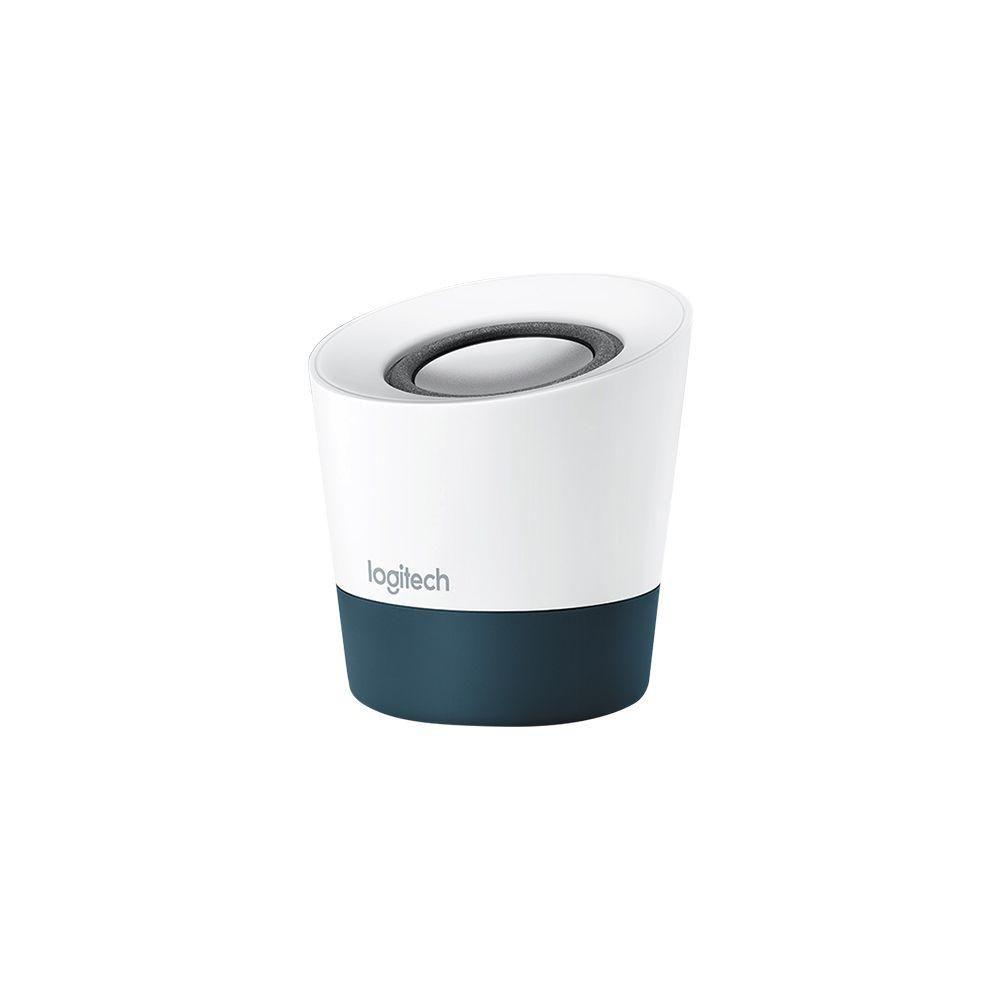 Caixa de Som Speaker Portátil Logitech Z51 USB Branco