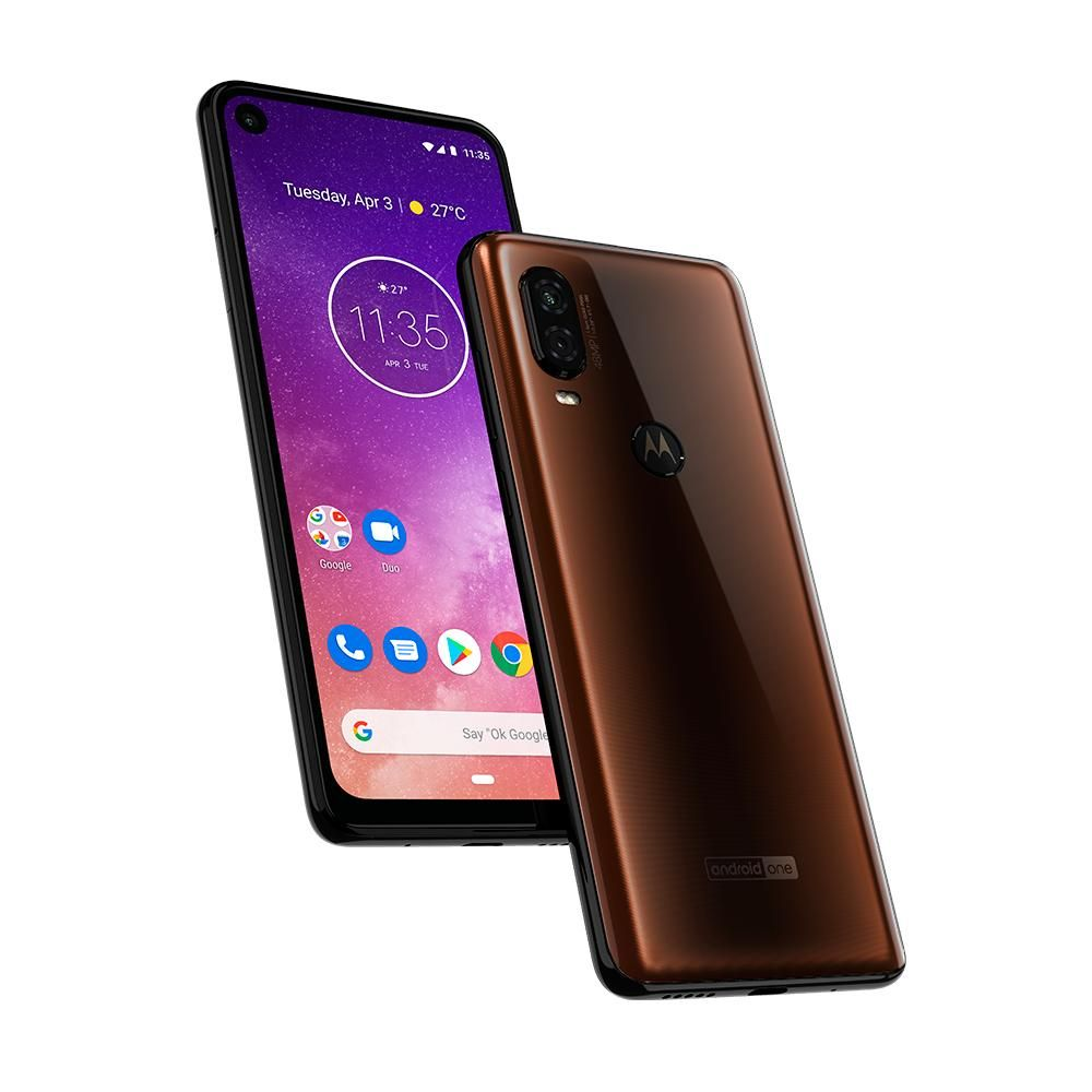 Smartphone Motorola Moto One Vision Bronze 128GB 48mp+5mp