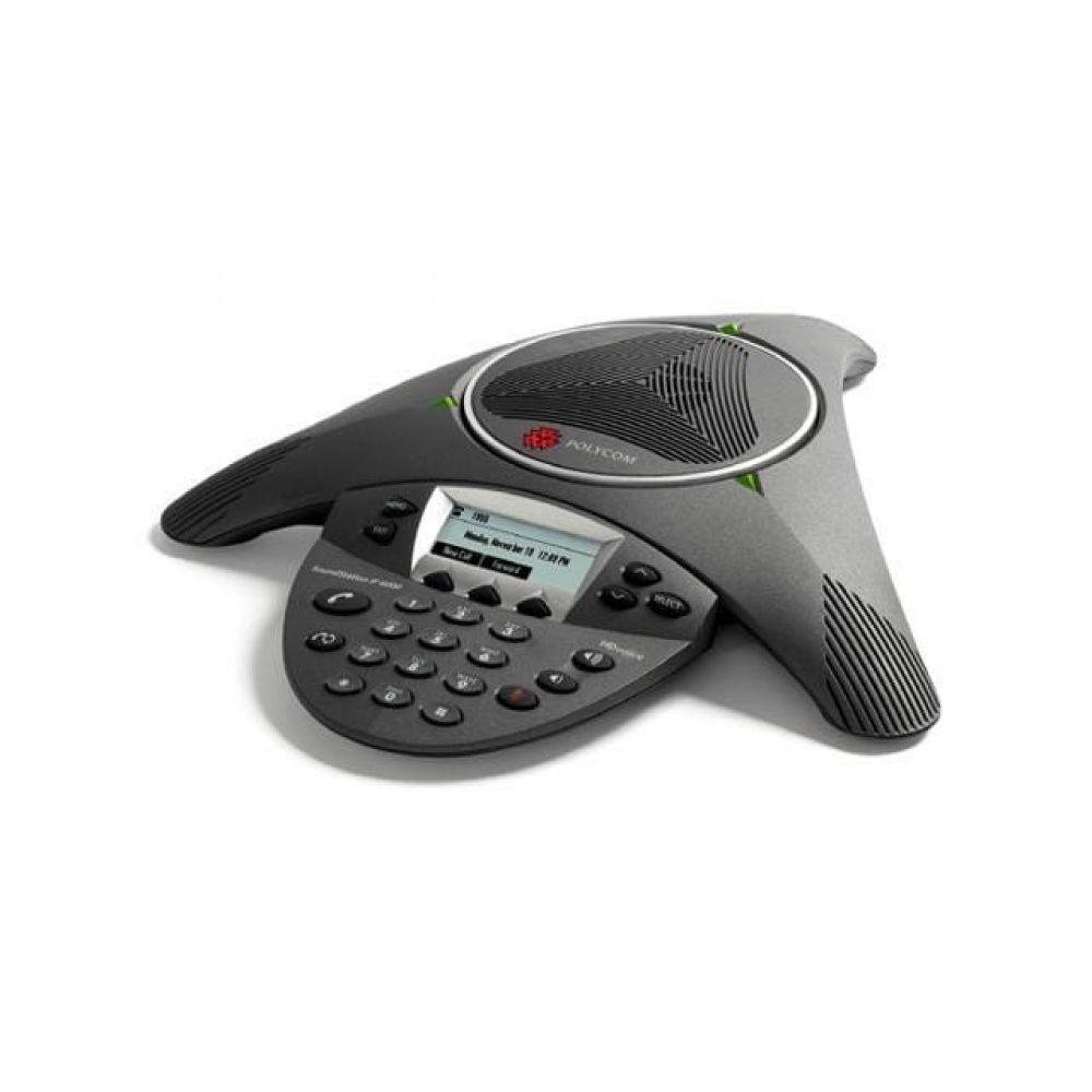 Polycom Telefone Audioconferencia Soundstation Ip6000 (sip) - Alimentação Ac Ou Poe Bivolt