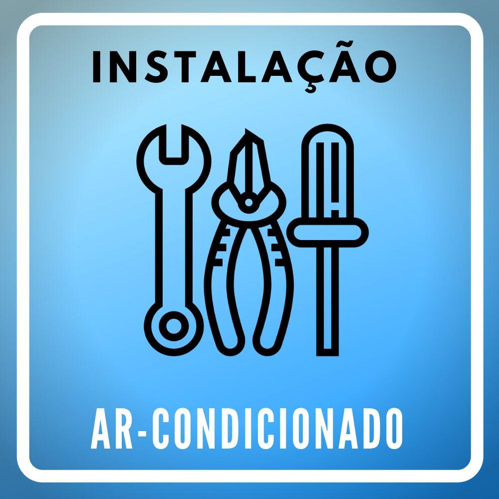 Instalação de Ar Condicionado Split Hi Wall Convencional ou Inverter de 12000 BTUs