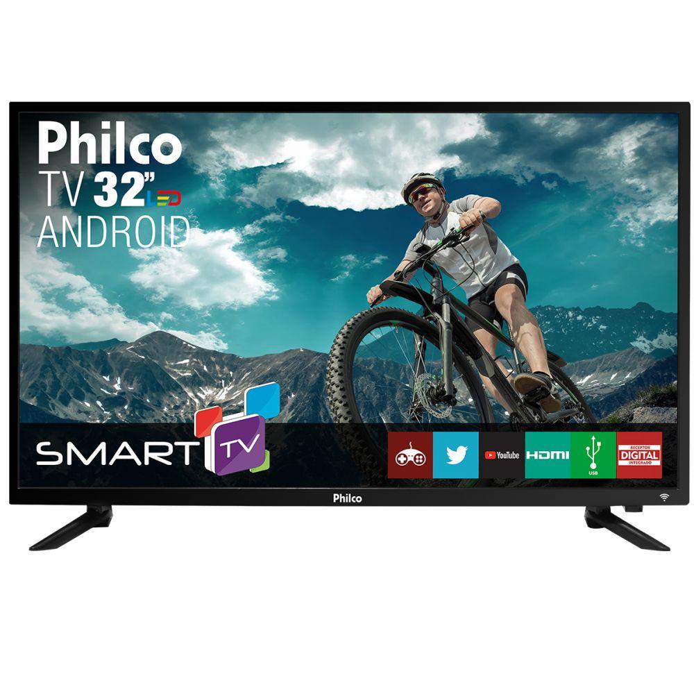 "Smart TV LED Android 32"" Philco Bivolt PTV32N87SA"