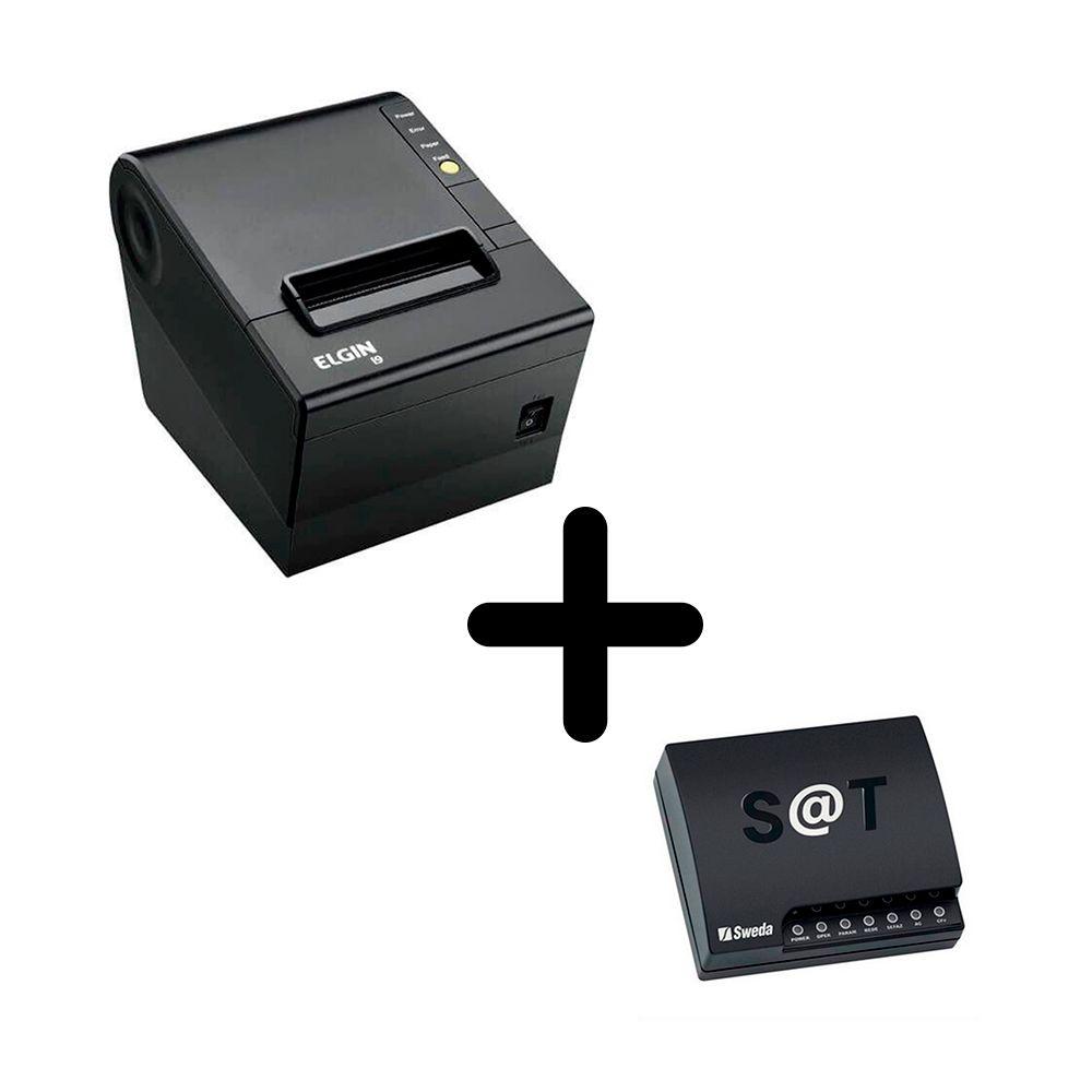 Kit Sat Fiscal Sweda Ss-2000 + Impressora I9 Usb