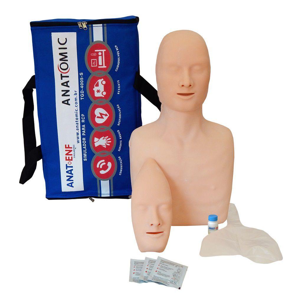 Simulador para Treino de Rcp Adulto e Infantil Anatomic