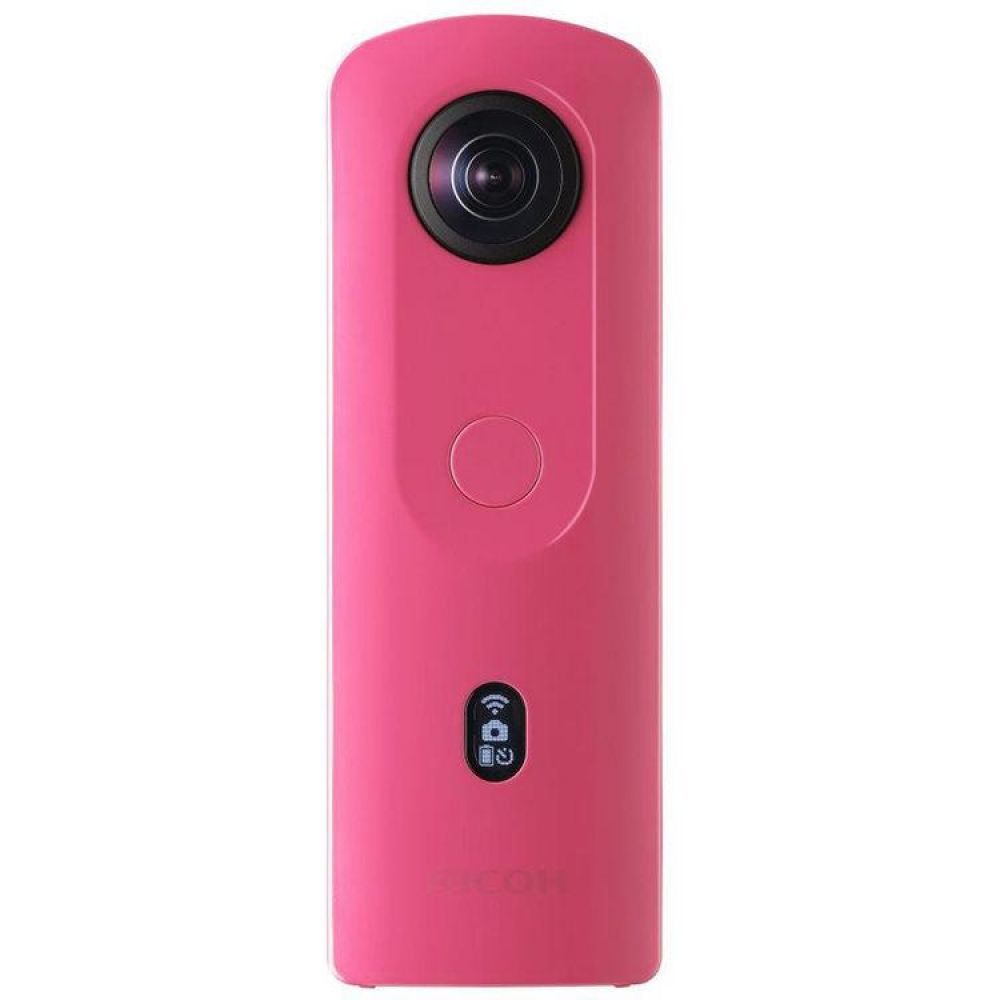 Câmera 360 Ricoh Theta Sc2 4k 360 Spherical Pink