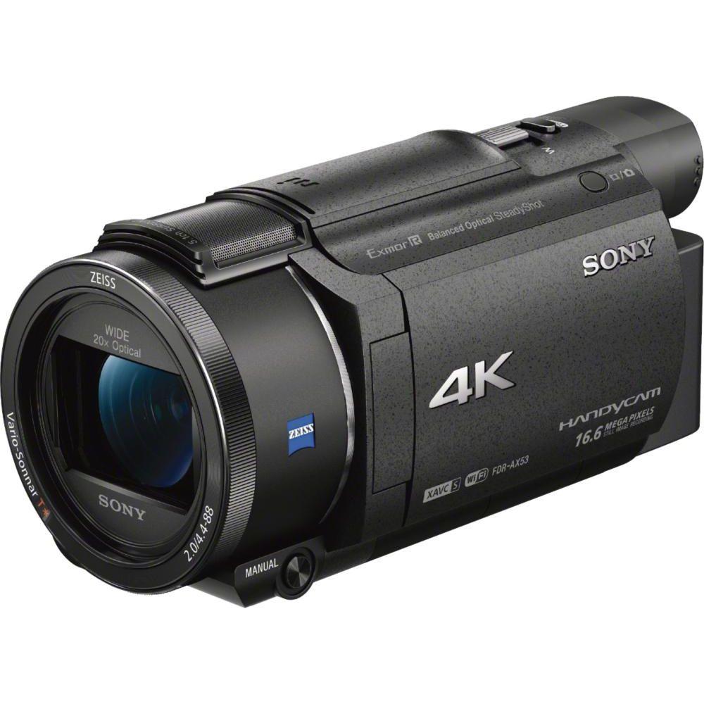 Sony Handycam 4k Flash Memória Premium Filmadora Preto