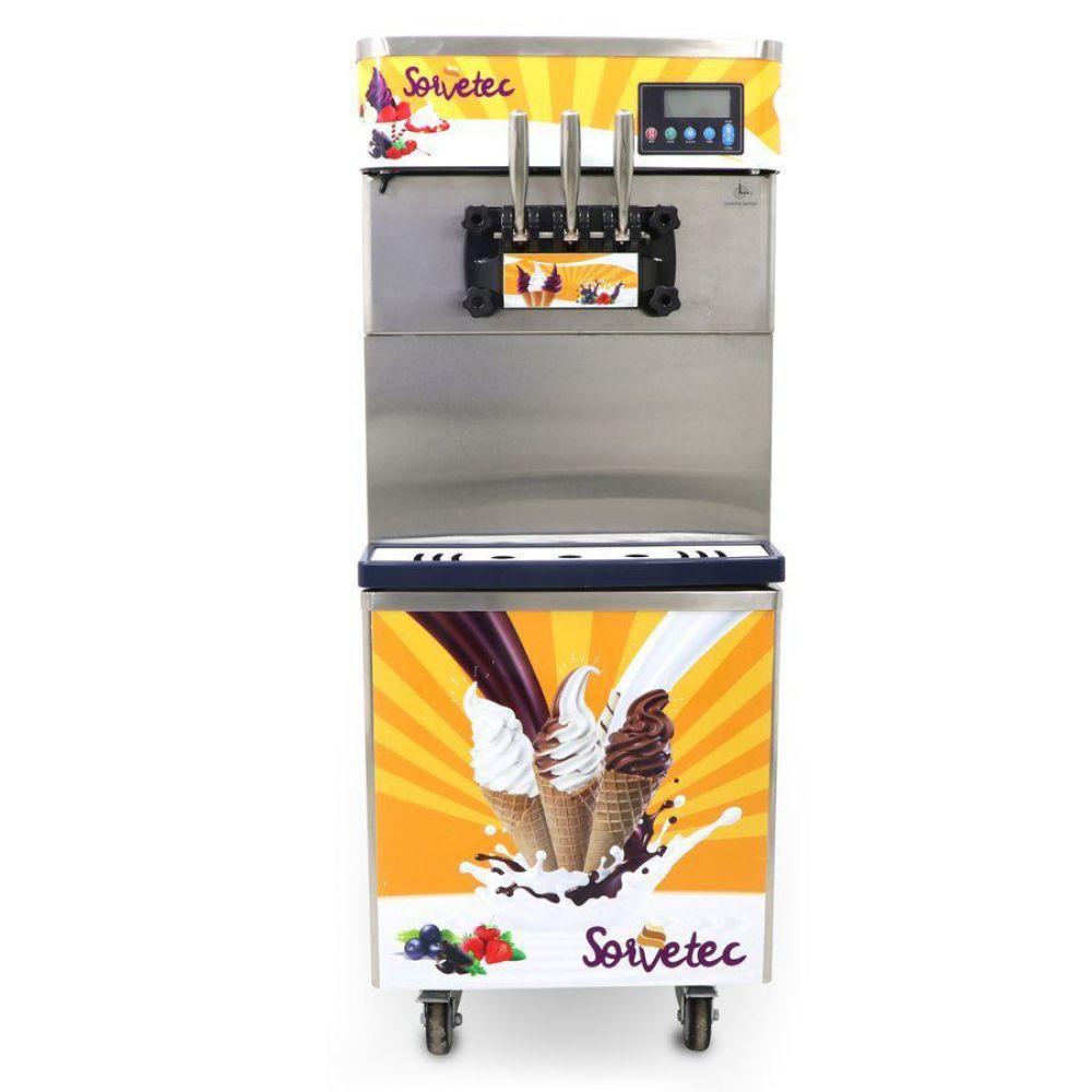 Máquina de Sorvete Expresso 825B-P com Conservação Noturna SORVETEC