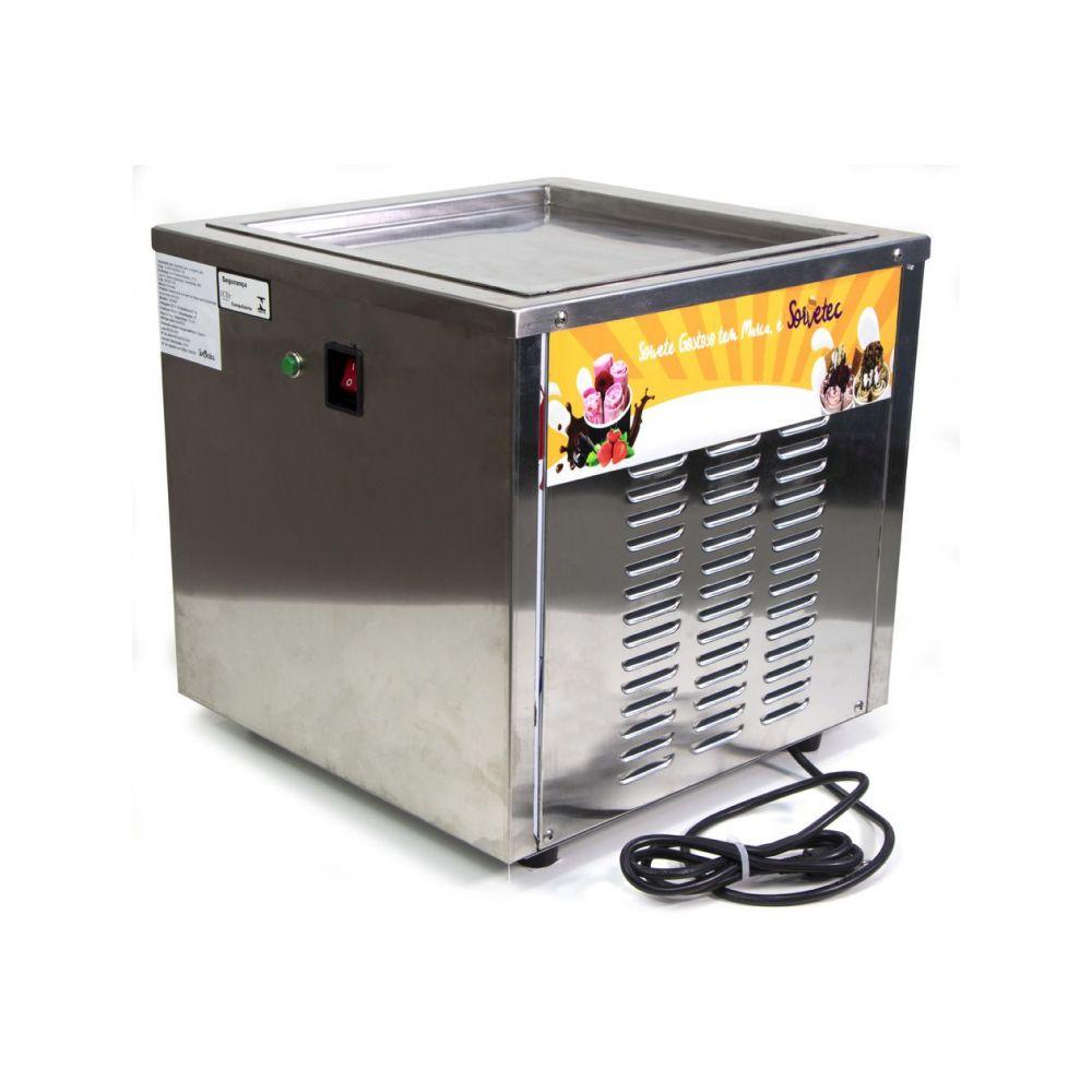 Máquina De Sorvete Na Chapa De Mesa Sorvetec