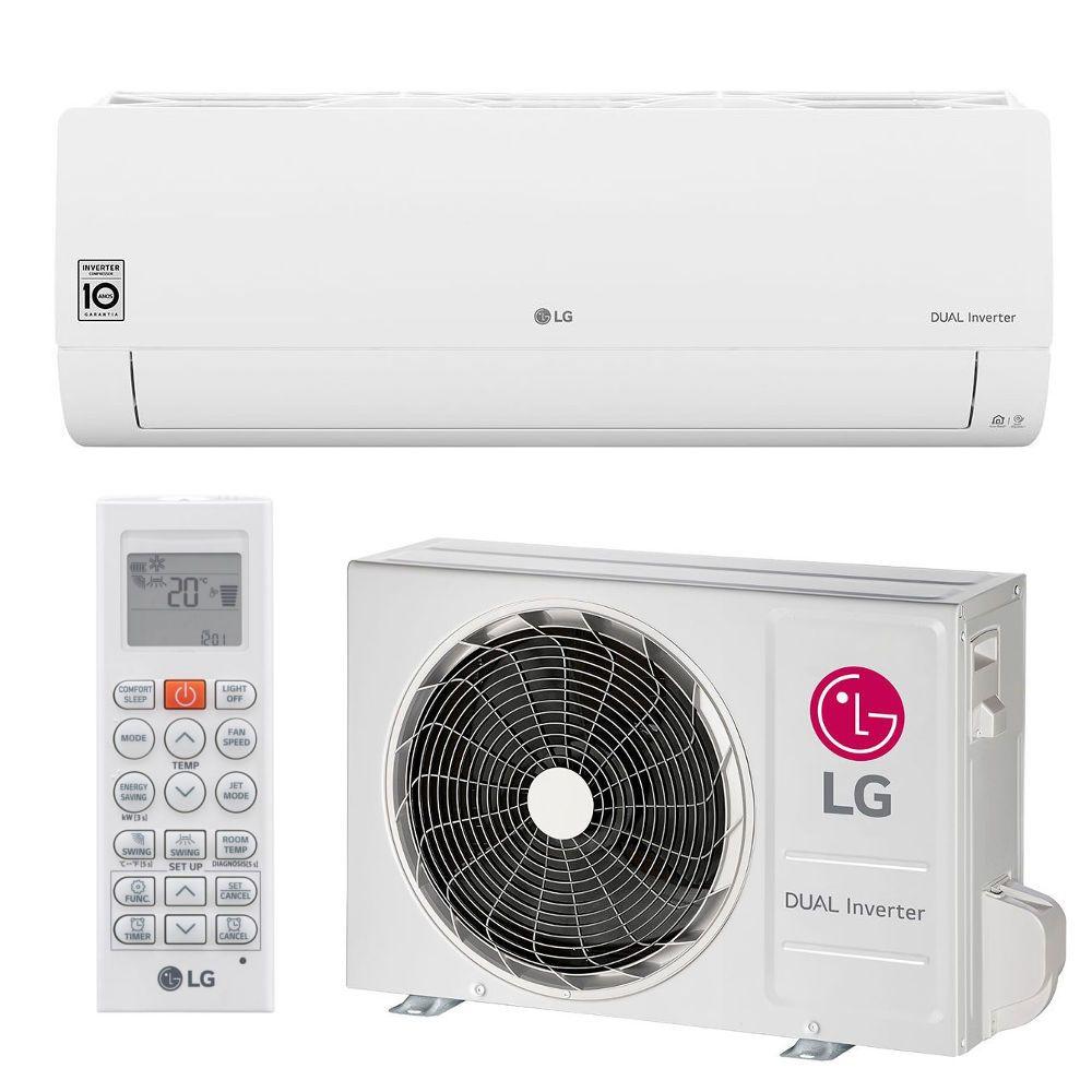 Ar Condicionado Split LG Voice Dual Inverter 12000BTUs Q/F 220V S4UW12JA31A.EB2GAMZ