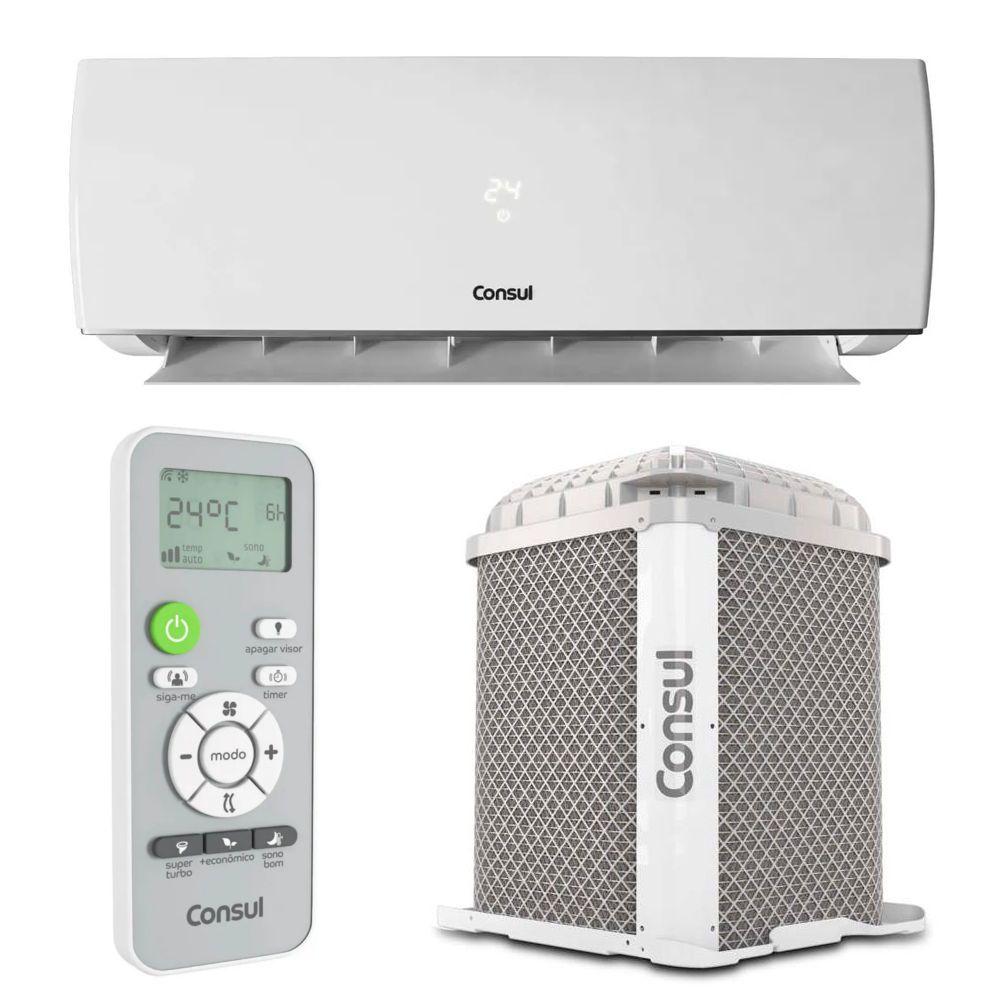 Ar Condicionado Split Hw On/off Consul 22000 Btus Frio 220v Monofasico CBN22CBBNA